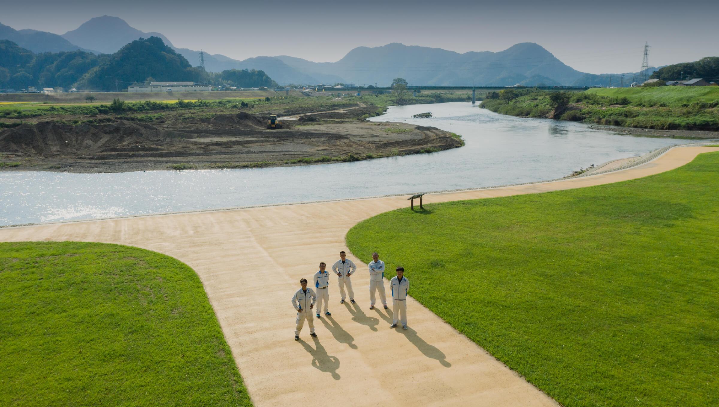 狩野川河川維持修繕プロジェクト イメージ写真