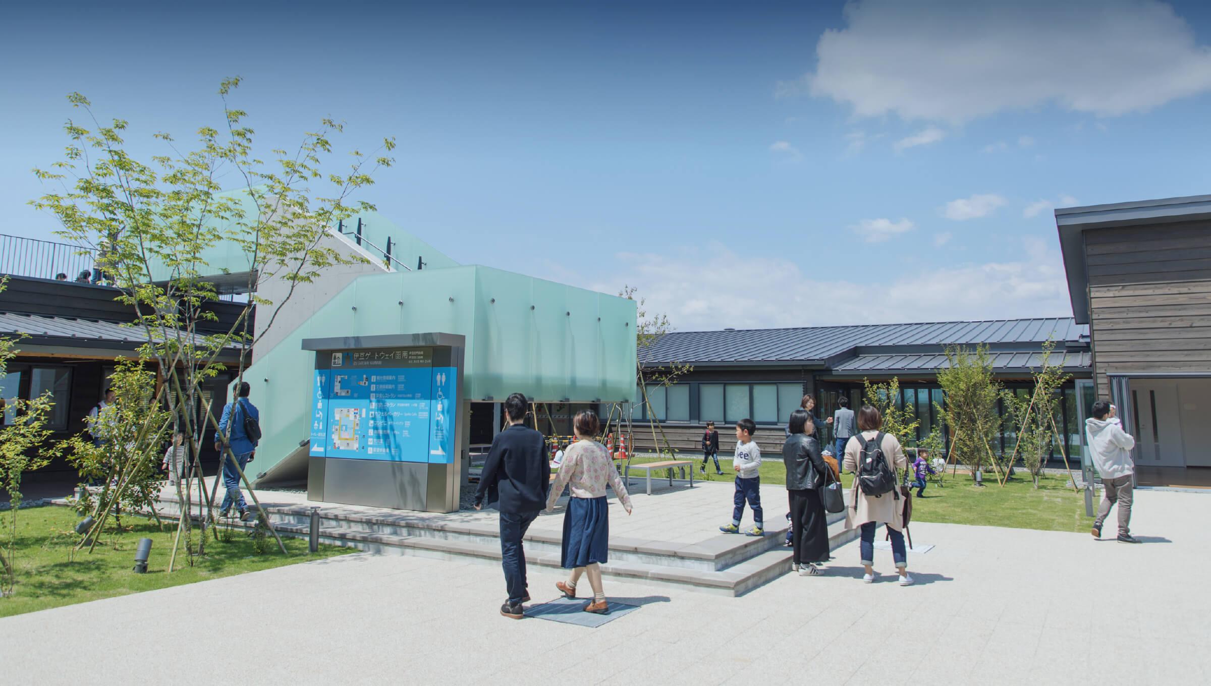 道の駅伊豆ゲートウェイ函南プロジェクト イメージ写真