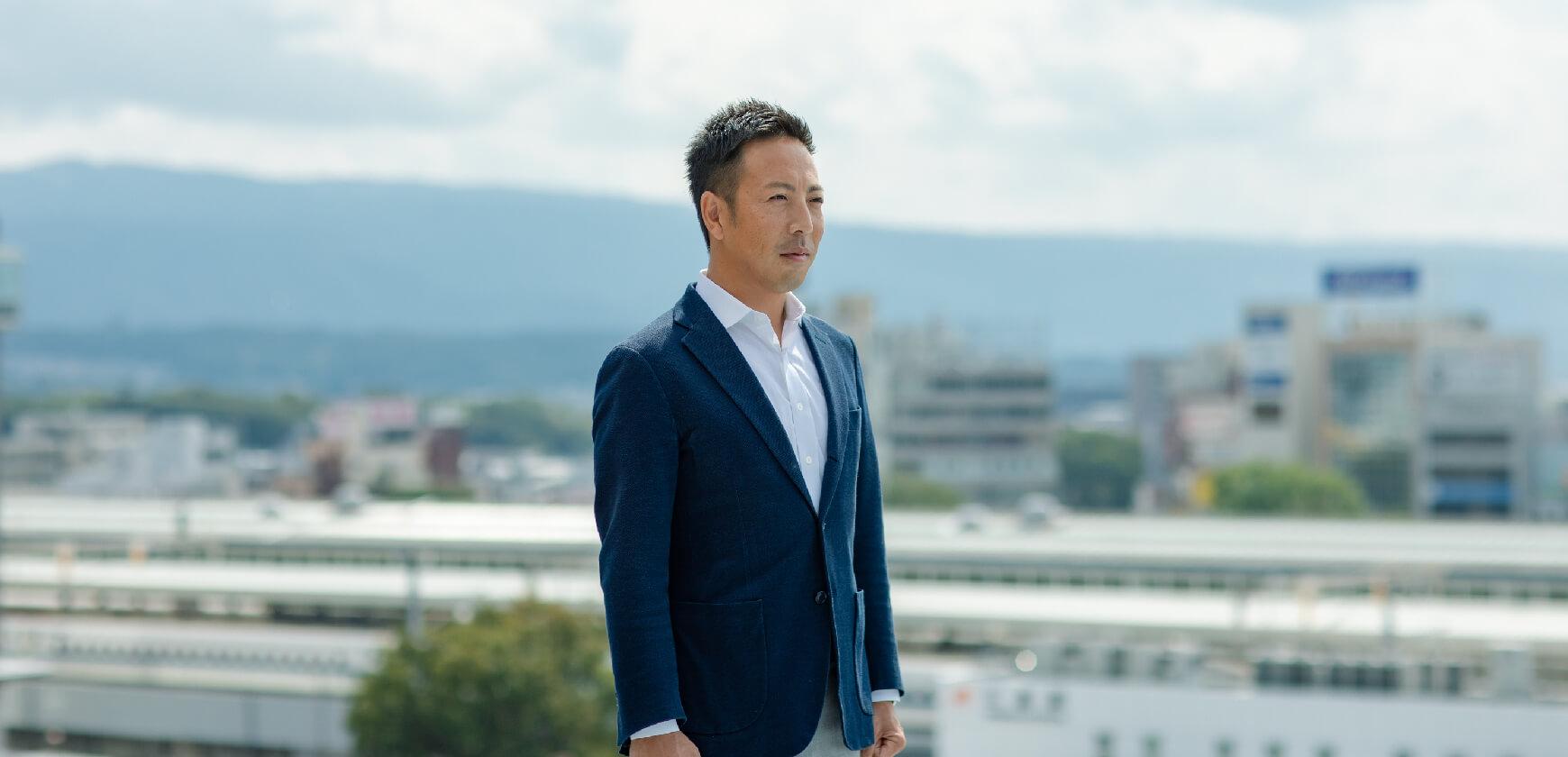 代表取締役 河田亮一 ポートレイト